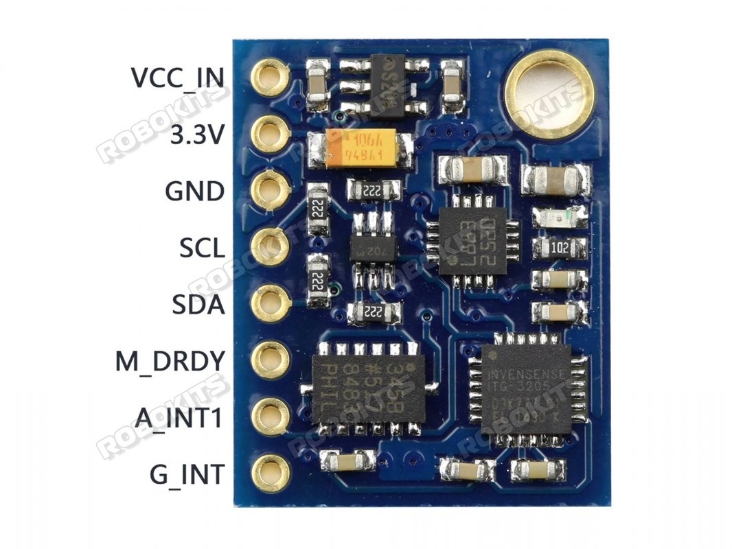 9 Degrees of Freedom IMU with AHRS output - Click Image to Close