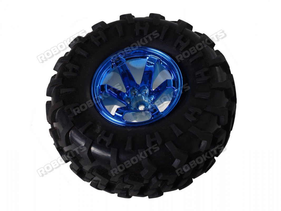 Robot Wheel 125mm Diameter 60mm Width for ATV