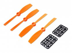 Propeller pairs 5x3 Orange (CW/CCW) 4pcs Set