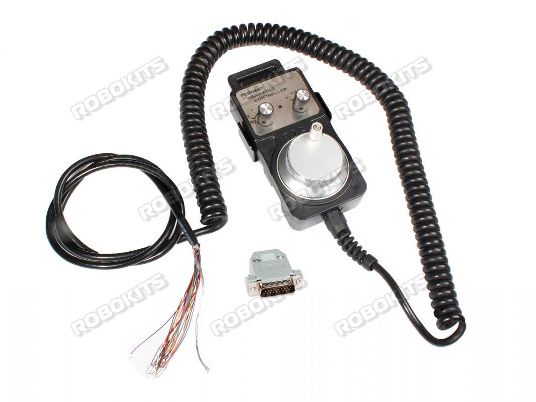 4 Axis MPG Pendant Hand-Held 5V 100PPR Rotary Encoder