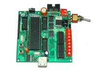 Rhino Robot Control Board L293 - AVR Based with Quick C Compiler