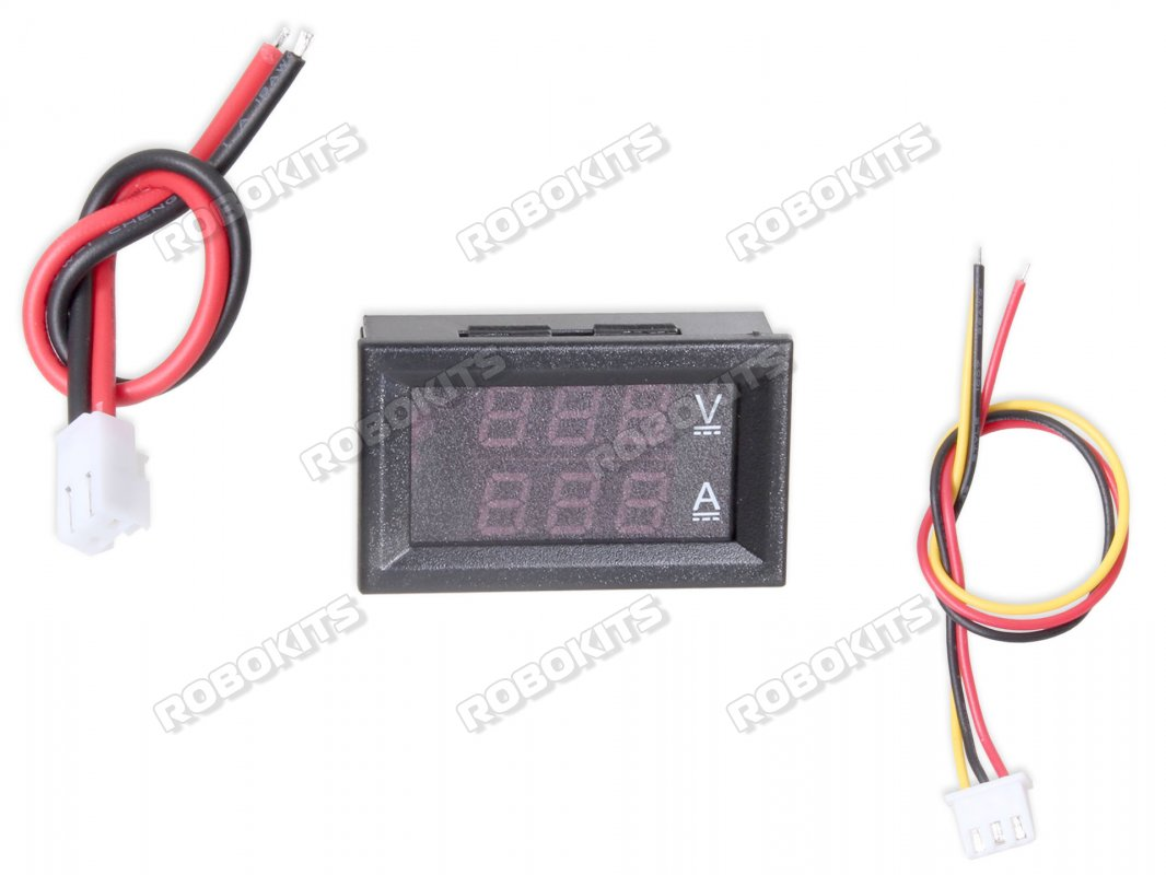 Digital Voltmeter Ammeter Dc 0 100v 10a Monitor Panel Rki 2701 Schematic Diagram Of The Simplest With Avr Atmega8