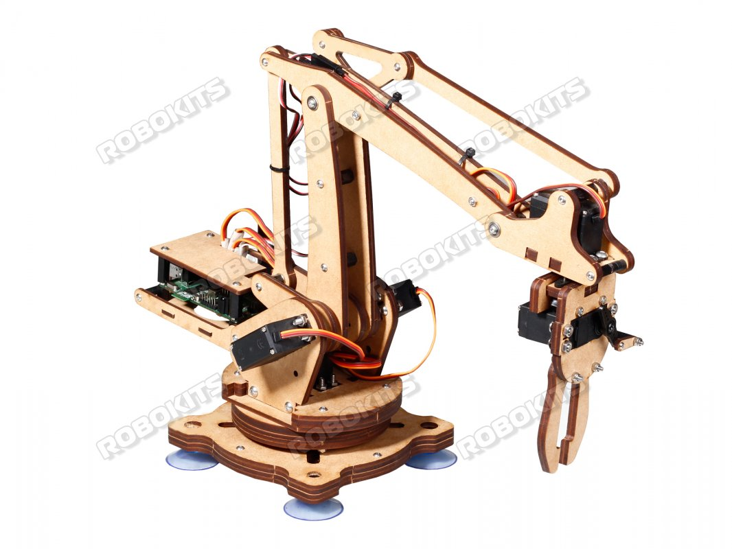 Robotic arm 5 DOF DIY Kit with USB Servo Controller Board