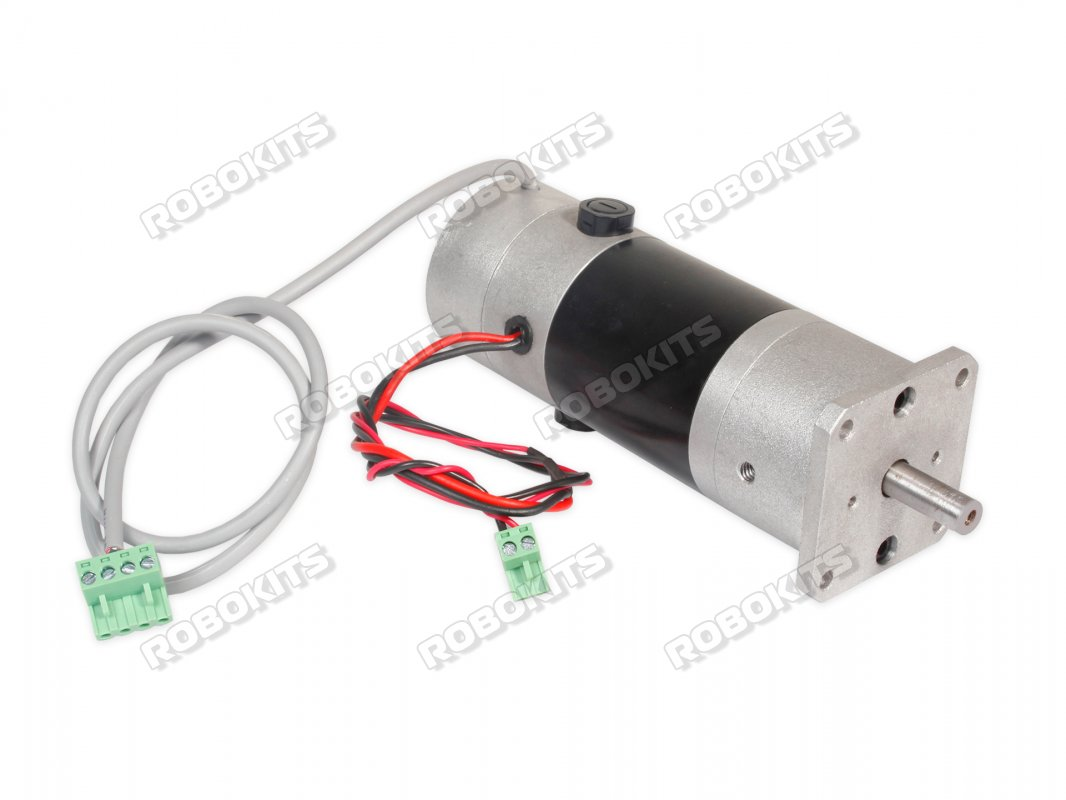Planetary Encoder Geared motor 24V 175RPM 100W - Click Image to Close