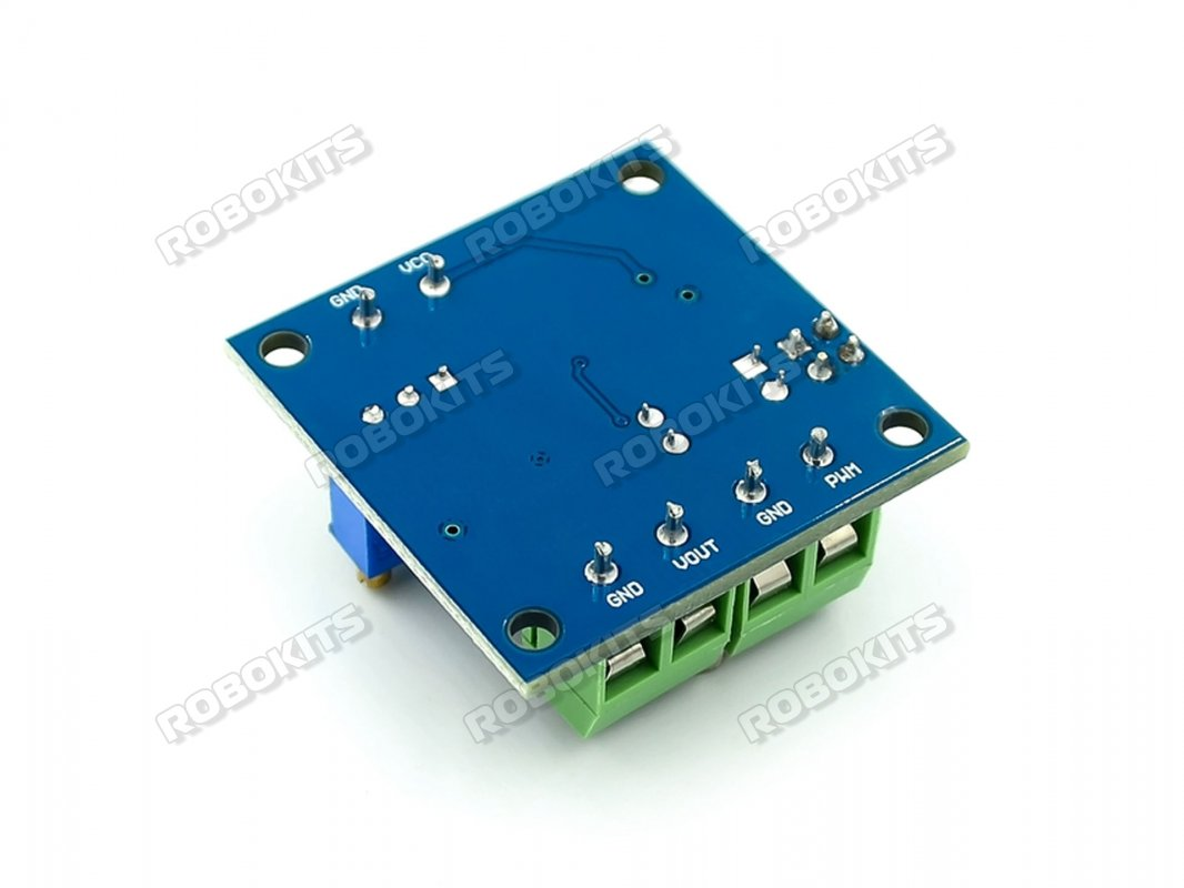PWM to Voltage Converter Module 0-100% to 0-10V - Click Image to Close