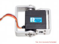 Metal Gear Dual Shaft 16kgcm Digital Servo Motor