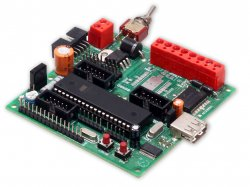 Rhino Robot Control Board - AVR Based with Quick C Compiler