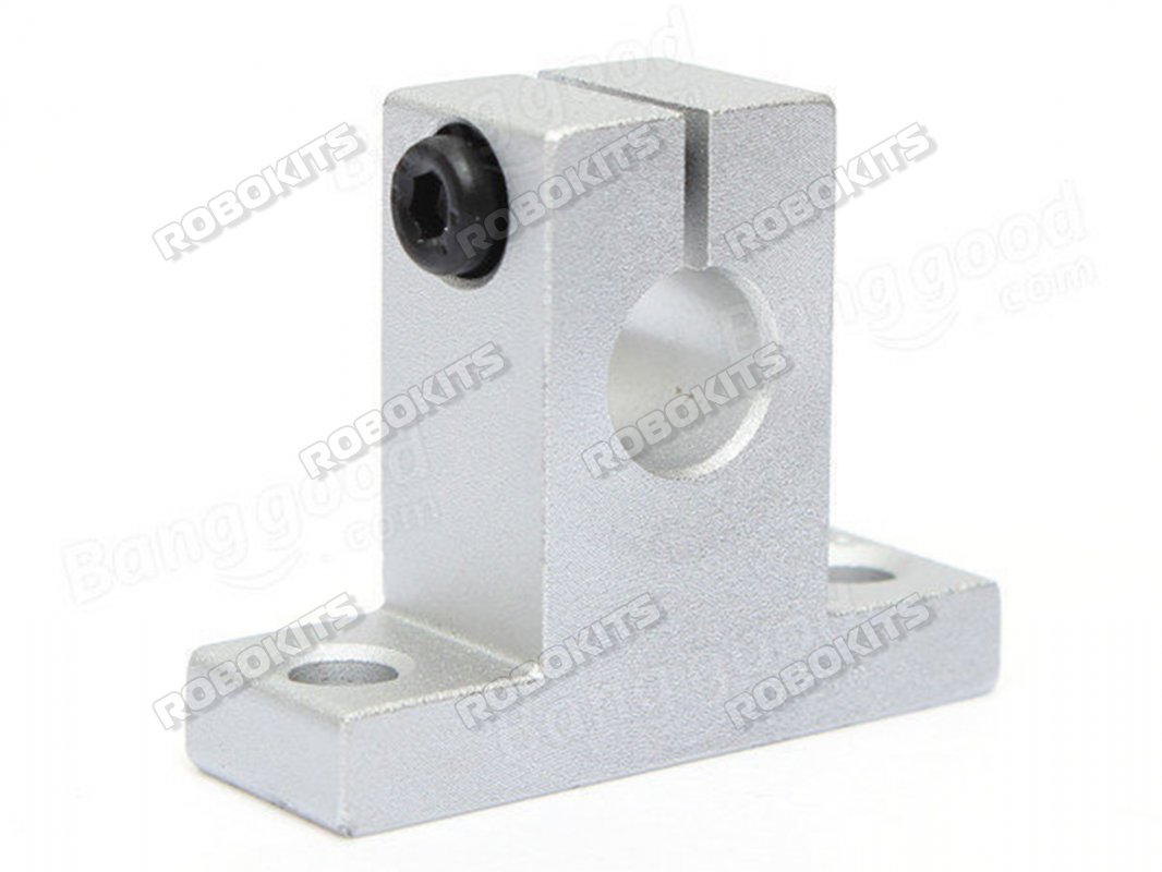 2PCs SK16 Linear Shaft Support ID 16mm Light-Weight Aluminum Alloy Mounting Fixing Bracket for Linear Motion Rod