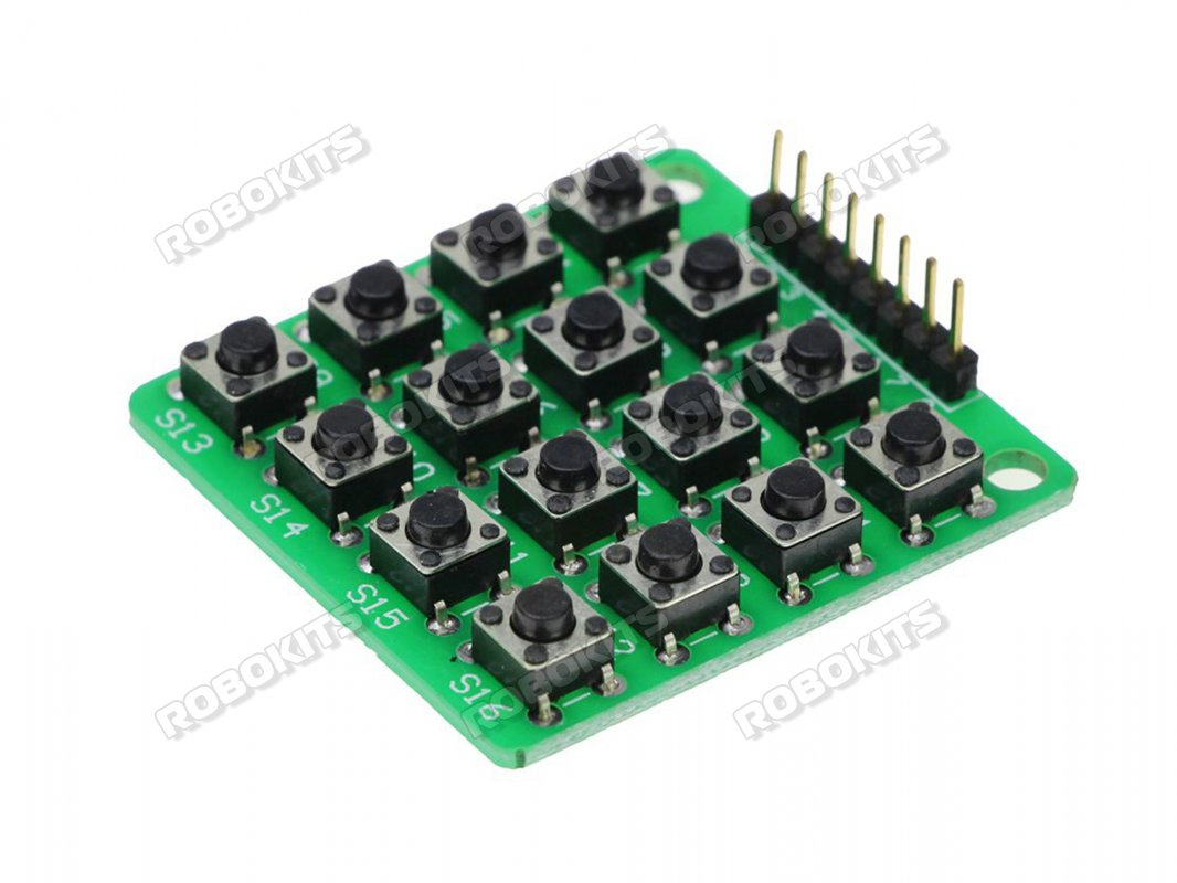 4x4 Matrix Keypad Module 16 Button for Arduino