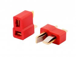 T Plug Deans Connector - Male/Female Pair
