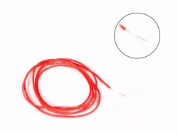High Temprature Super Flexible Grade Silicone Wire 24AWG Red MOQ 2 meter
