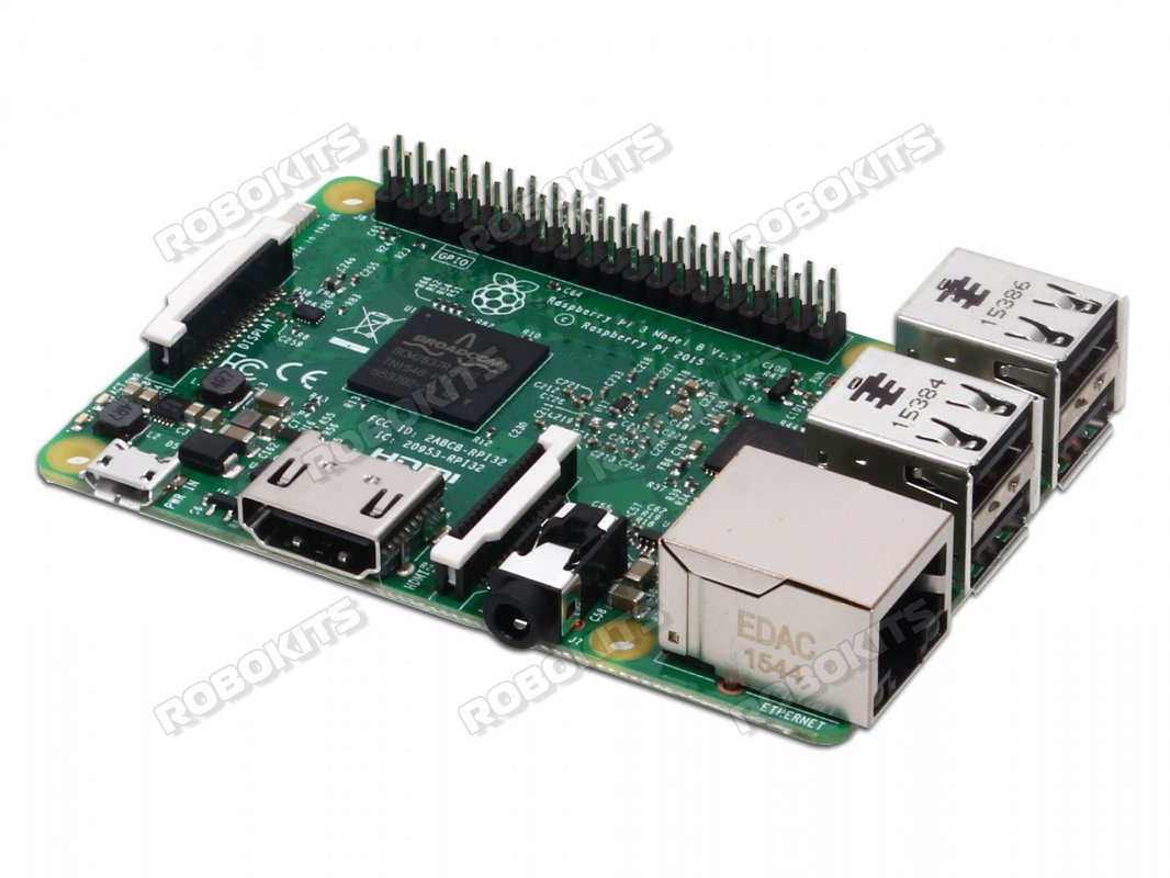 Raspberry Pi 3 Model B 64Bit Quad Core with WiFi and BLE