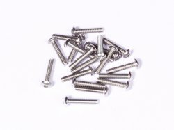 M4 x 20 mm SS Bolt Precision Stainless Steel 304 MOQ 25 Pcs