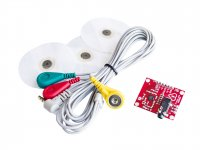 AD8232 ECG Sensor with ECG Cable and Electrodes