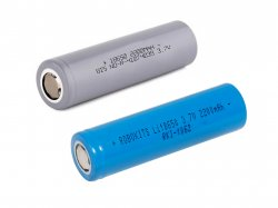 3.7V Li-ion Batteries 3.2-4.2V