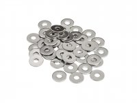 M4 Flat Washer 304 Stainless Steel Pack of 50 pcs
