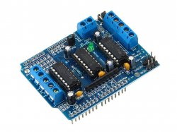 L293D based Motor Shield compatible with Arduino
