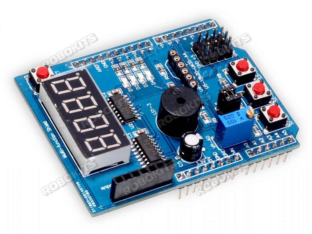 Multifunction Shield For Arduino Uno Leonardo Rki 2302 246 Charger Circuits Simple And Easy Multifunctional Circuit