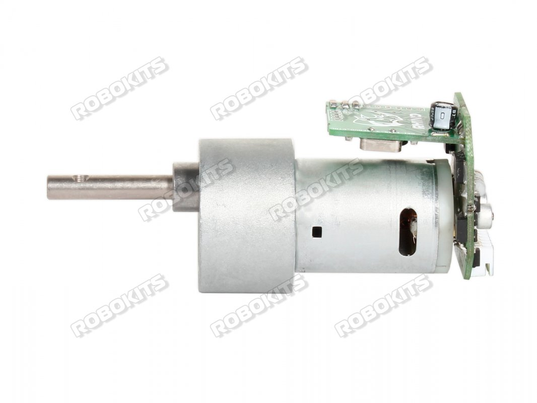 Johnson High Torque DC Geared Motor 60RPM with Driver - Grade A - Click Image to Close