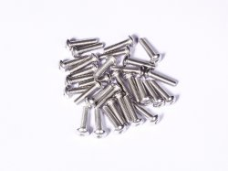 M5 x 16 mm SS Bolt Precision Stainless Steel 304 (MOQ 25pcs)