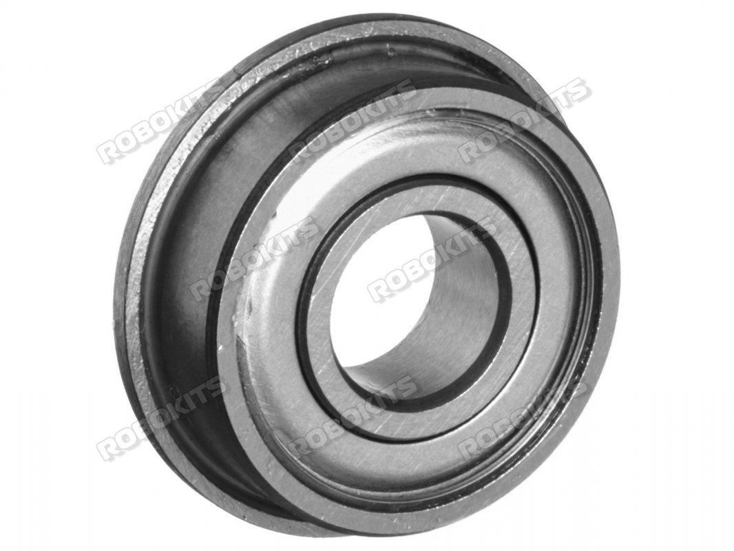 F688ZZ Flanged Shielded Deep Groove Ball Bearing - Click Image to Close