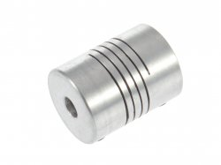 Aluminium Flexible Shaft Coupling 5mm to 6.35mm