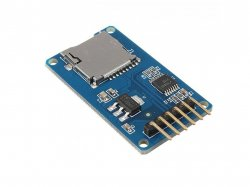MicroSD Card Adapter module with SPI Interface compatible with Arduino