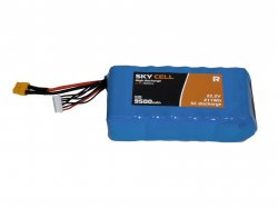 High Discharge Li-Ion 6S 7500mAh 5C Battery For Endurance Drone
