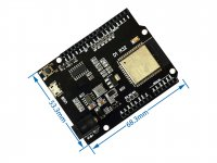 ESP32 WiFi Bluetooth UNO D1 R32 Development Board 4MB flash Micro USB