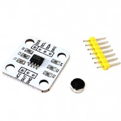 AS5600 Absolute Encoder 12 Bit Precision Angle Measurement Sensor with Magnet Wheel
