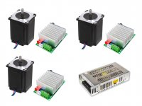 CNC Package with Stepper Motor Nema23 19kgcm Motor & TB6600