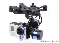 Tarot T-2D Gimbal for GoPro camera with controller