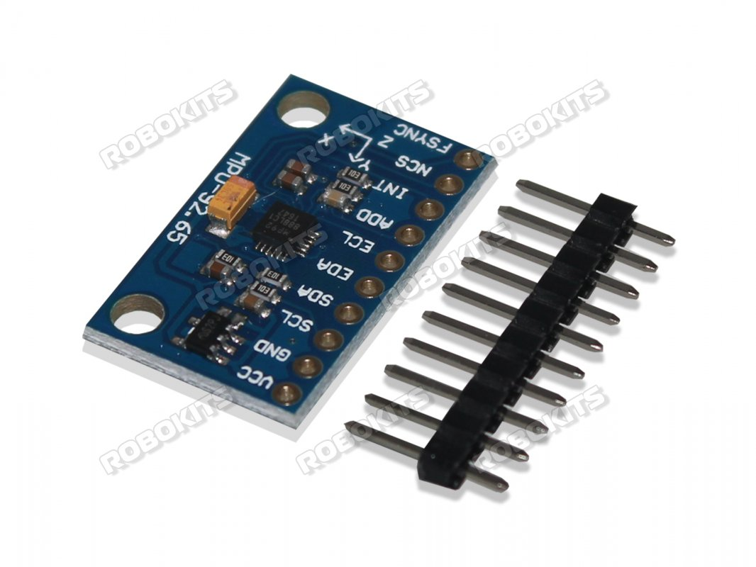 9DOF 3 Axis Accelerometer + Gyroscope + Magnetometer MPU-9250 - Click Image to Close