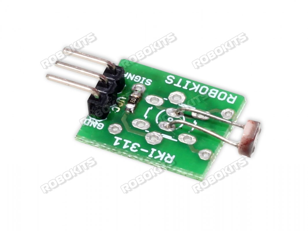 Analog Ambient light sensor LDR Module with LM393 - Click Image to Close