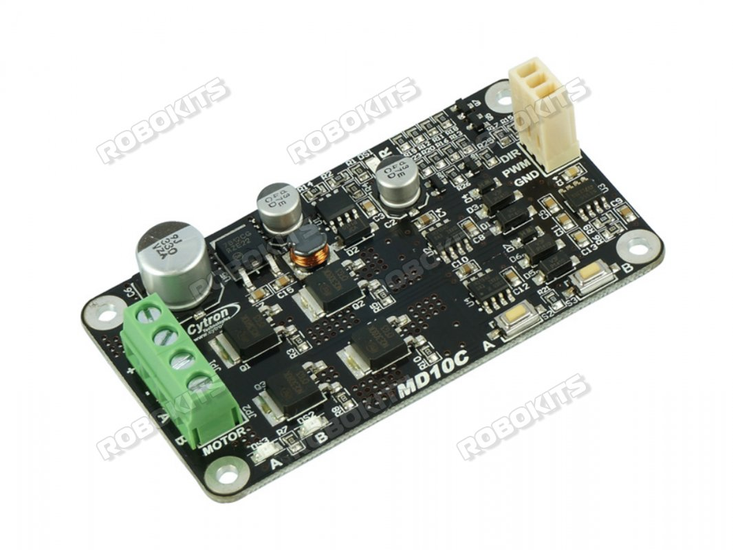 Cytron DC Motor Driver 5V-30V 10Amp - MD10C (Original) - Click Image to Close