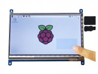 Raspberry Pi HDMI 7 Inch 1024 x 600 Capacitive 10point Touch IPS LCD Screen
