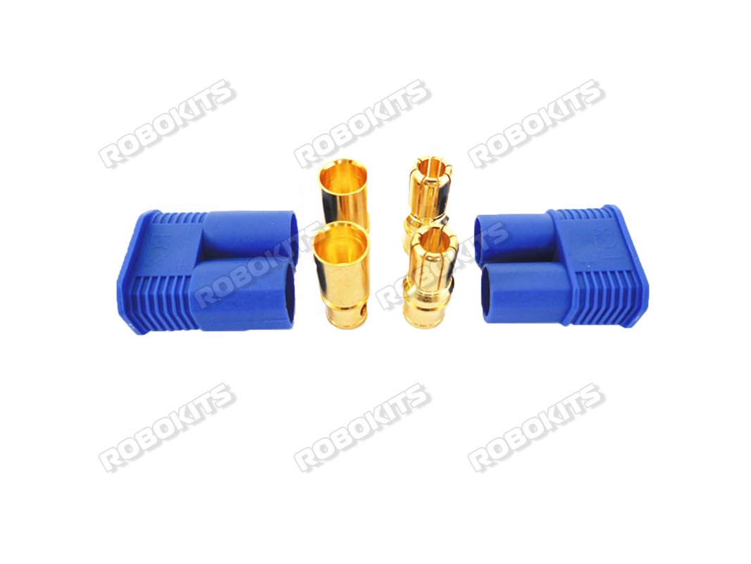 EC8 Connectors - Male / Female Pair - Click Image to Close