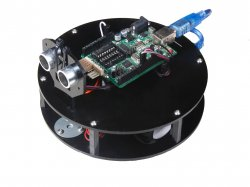 Obstacle Avoidance RoundBot - DIY KIT