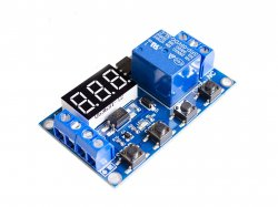 Delay Triggered One Way Relay Module with Adjustable Timing Cycle