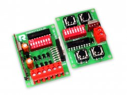 RF (60 Meter) four Channel Remote + 2A dual motor driver