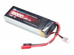GenX 14.8V 4S 18000mAh 25C / 50C Premium Lipo Battery with AS150+XT150 Connector