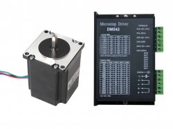 NEMA23 Stepper Motor 19KgCm Torque with DM542 Drive