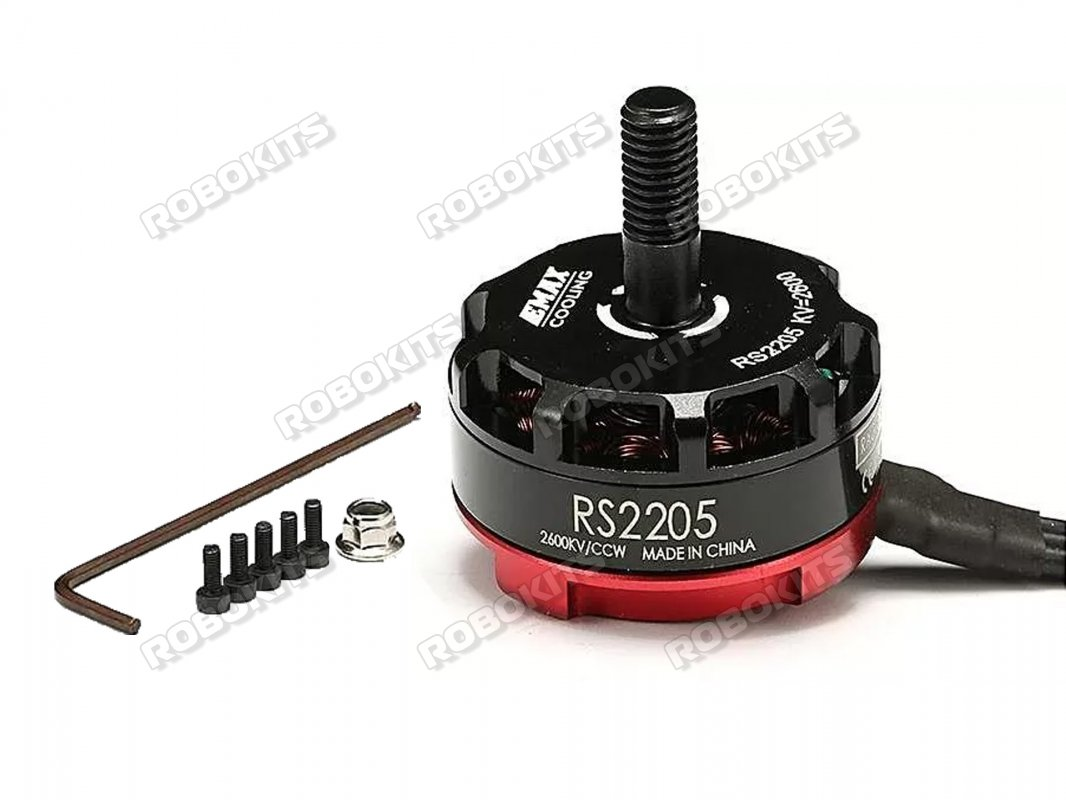 EMAX RS-2205 MOTOR racing edition 2600KV(CCW motor rotation) - Click Image to Close