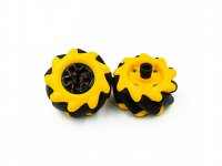 Mecanum Wheel 48mm For TT Motor (1x Left, 1x Right)
