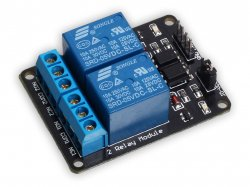 Opto-isolated 2 Channel 5V Relay Board