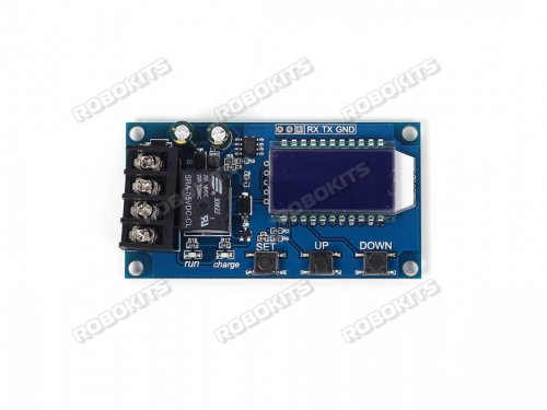 XY-L10A lithium battery charge controller protection board 6-60V LCD display LM