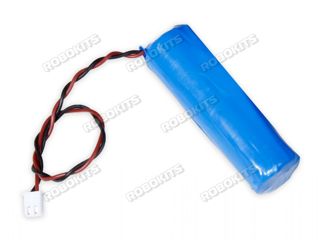 Lithium-Ion Rechargeable Cell 3.7V 2000mAh (2C) Grade-A with Charge Protection - Click Image to Close