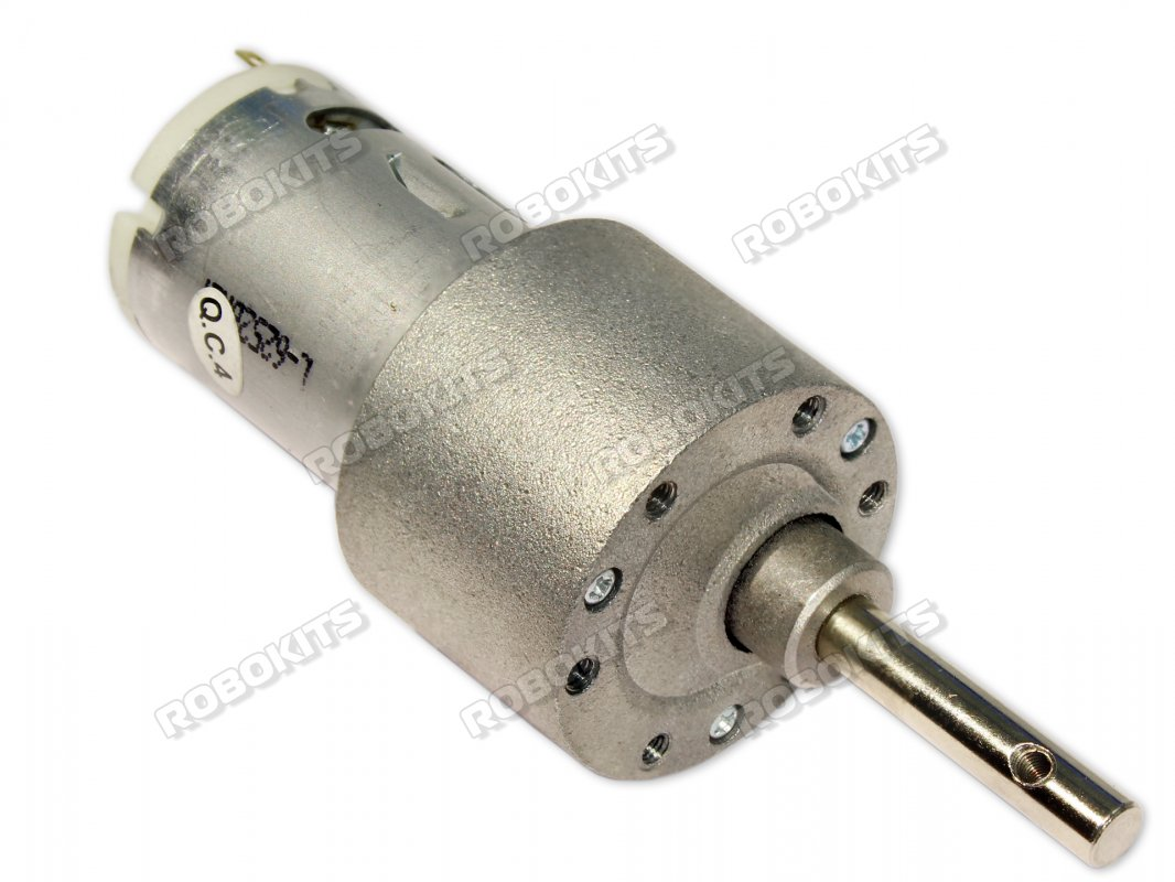 High Torque 12V DC Geared Motor 10RPM