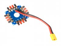 ESC Power Distribution Board With XT60 Male Connector
