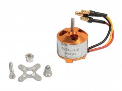 RC Brushless Motor 2212 1000KV with Soldered Banana Connector